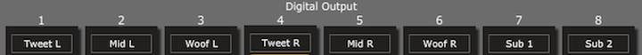 Output screen