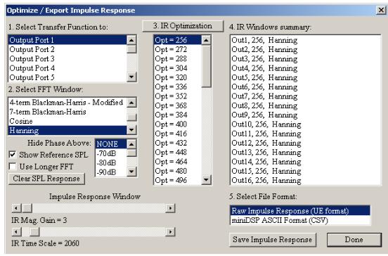 FIR Filter tools