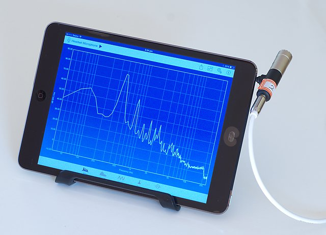 PMIK-1 with iPad running SignalScope Pro