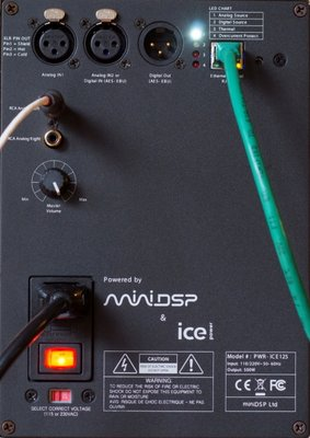 PWR-ICE125 amplifier connections