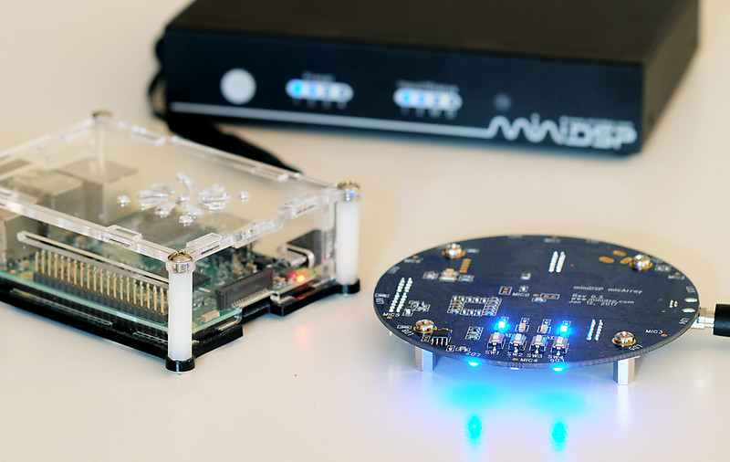 Photograph of UMA-8, Raspberry Pi, and nanoAVR HDA