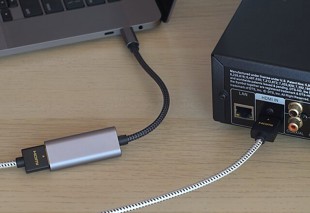 HDMI connection from Mac with USB-C hub for REW measurement