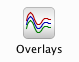 Overlays button