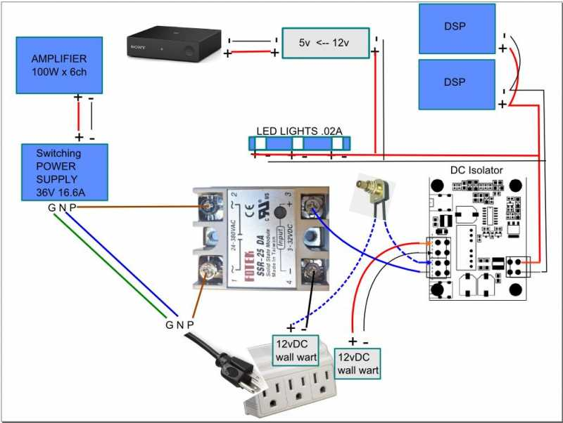 Minidsp   Power Schematic For Relay  Switch  Dc Isolator  1  1