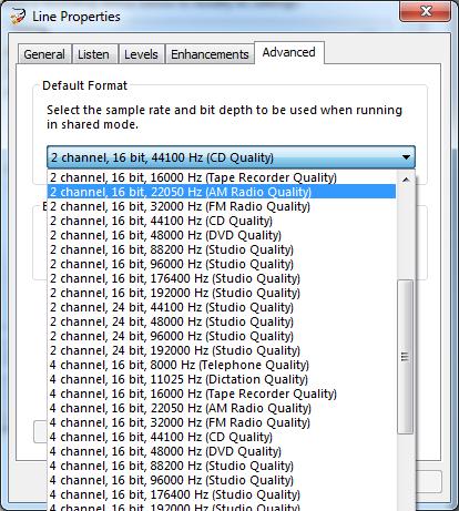 MiniDSP : USBStreamer 24kHz Sample Rate Capability (1/1)
