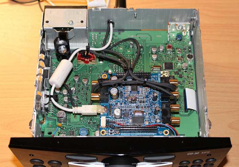 MiniDSP : miniDSP : mounted into head unit (1/1)